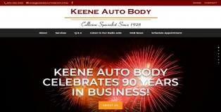 KeeneAutoBody.com