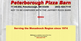 PeterboroughPizzaBarn.com